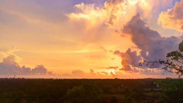 Goan sunset, High Dynamic Range image