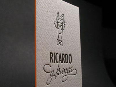img 0865 Business Card #1   20 cartes de visite avec effet papier