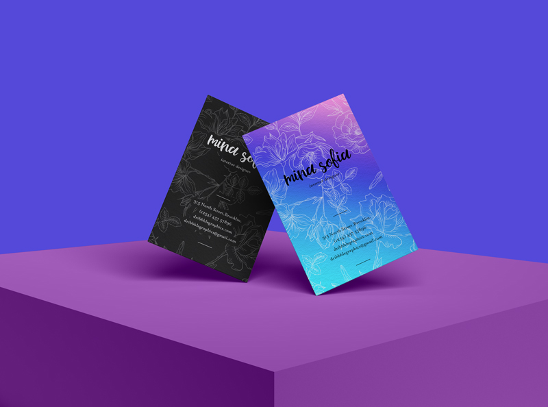 Creating professional business cards is easy with adobe spark. Free Brand Psd Stylish Business Card Mockup Dribbble Graphics
