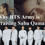BTS Army and Saba Qamar