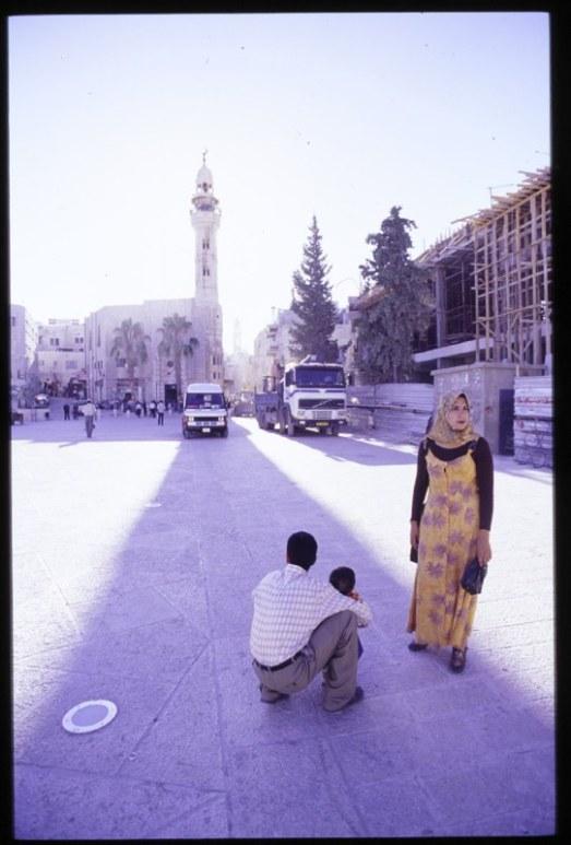 Bethlehem Mosque Couple 1999