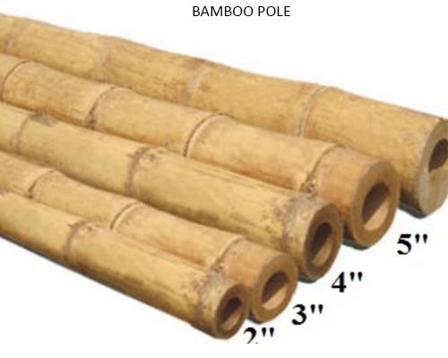 Bamboo Pole - Bulk Bamboo Poles Wholesale