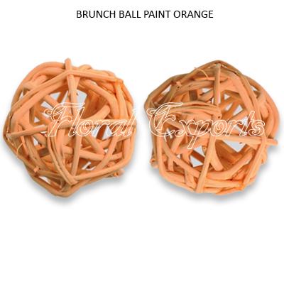 Brunch Ball 6cm Paint Color Loose - Branch Ball Wholesale