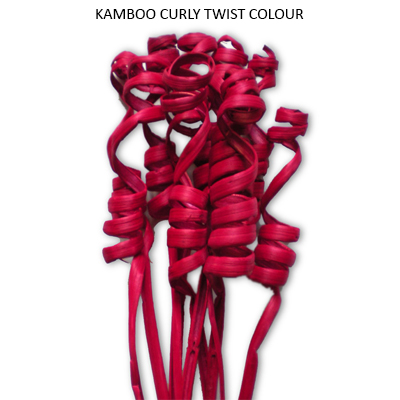 Kamboo Curly Twist Red