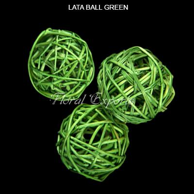 Lata Balls 6cm Green Loose - Wholesale Lata Balls Manufacturer
