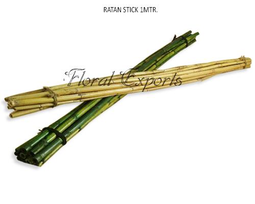 Rattan Stick 1MTR Long - Tall Decorative Sticks Wholesale