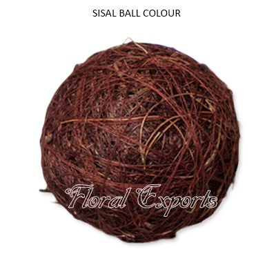 Sisal Fibre Ball Color - Decorative Bowl Fillers Balls