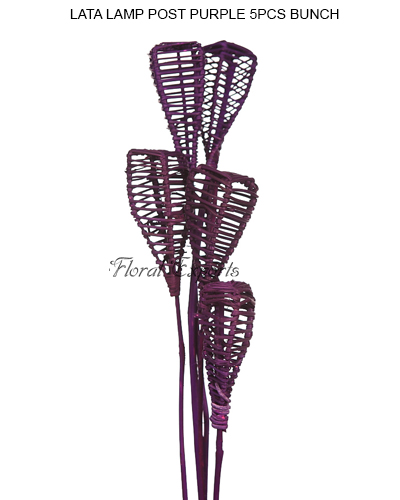 LATA LAMP POST PURPLE 5PCS BUNCH 5PCS BUNCH