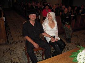 Harley wedding July 12th 2009