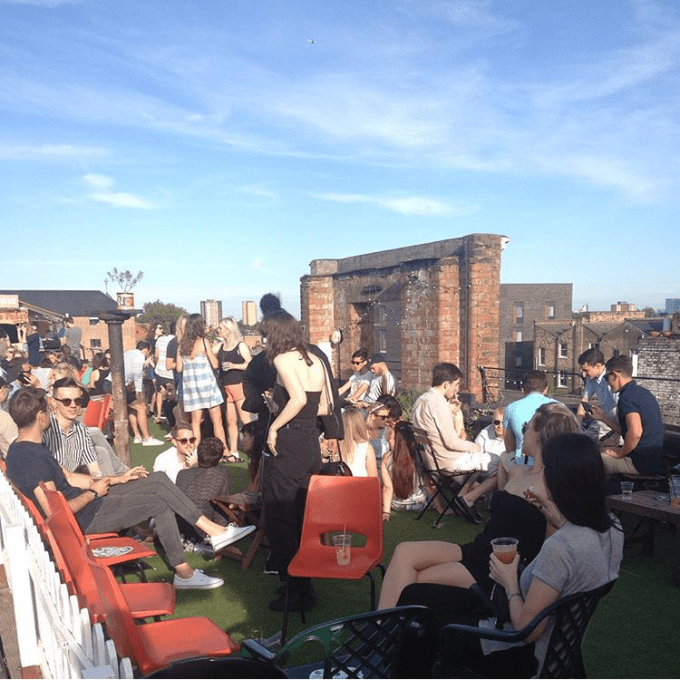 Rooftop no Leste de Londres