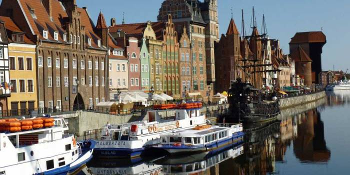 Volunteer in Gdansk Poland