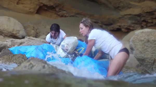 Sea Cave Film Still 5