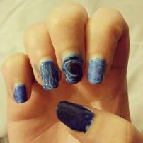 marble blue