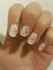 stamped hearts