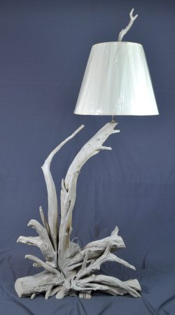 Sun-beached floor lamp