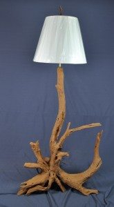 Sandblasted Floor Lamp