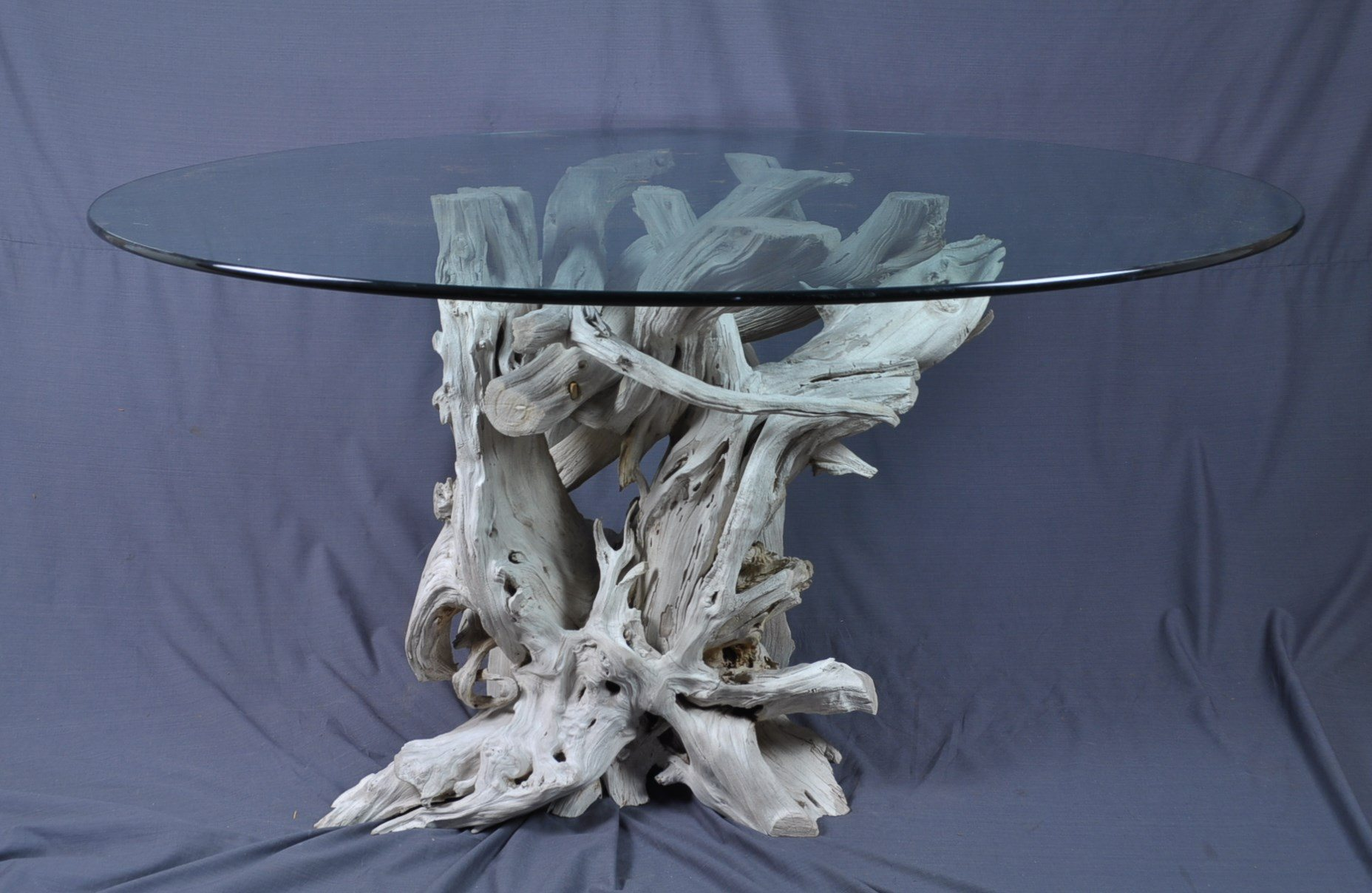 North Carolina driftwood dining table | Driftwood Decor