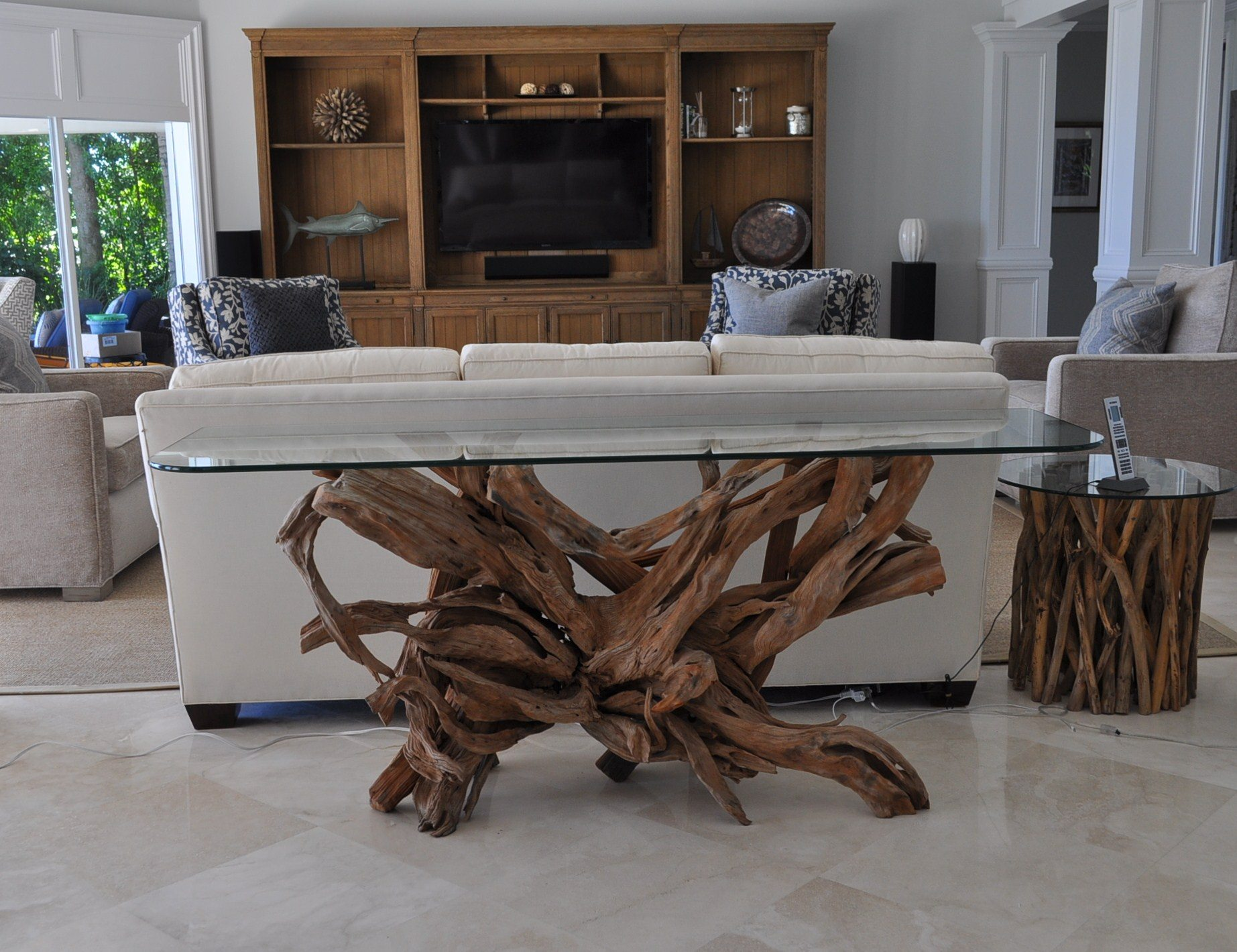 Another driftwood table delivery to S Florida