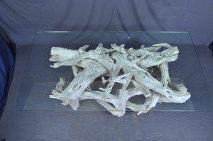 driftwood table base