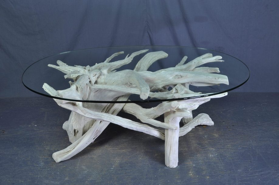 driftwood-oval-glass-coffee-table