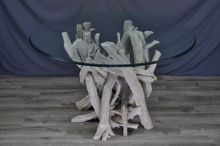 driftwood-round-glass-dining-table
