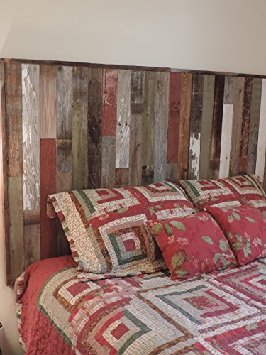Rustic Twin Size Bed Panel Headboard 45 34 X 36 Made Of Reclaimed Recycled Barn Wood