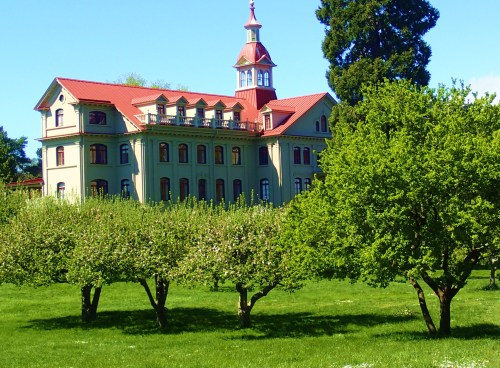 REFORM SCHOOL Actually, St. Anne's Convent, a national historic site in Victoria BC