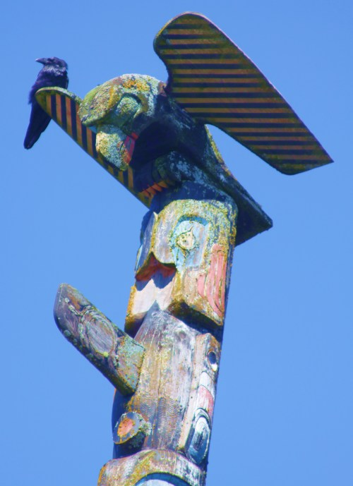 The Raven and the Eagle, Bella Bella totem