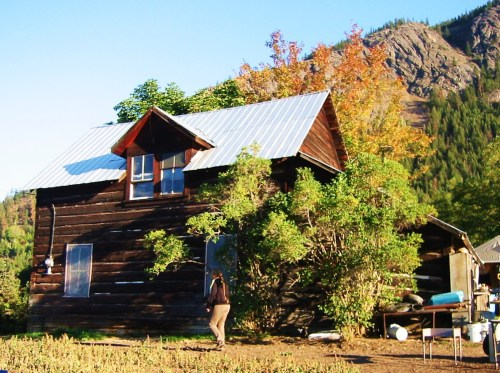 The old ranch house where I once lived.