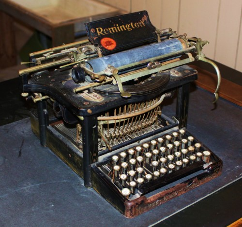 The Sheriff's word processor