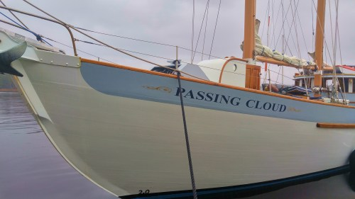 'Passing Cloud' a BC Coastal icon and as lovely as ever