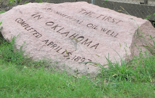 First Oklahoma Oil Well – American Oil & Gas Historical Society