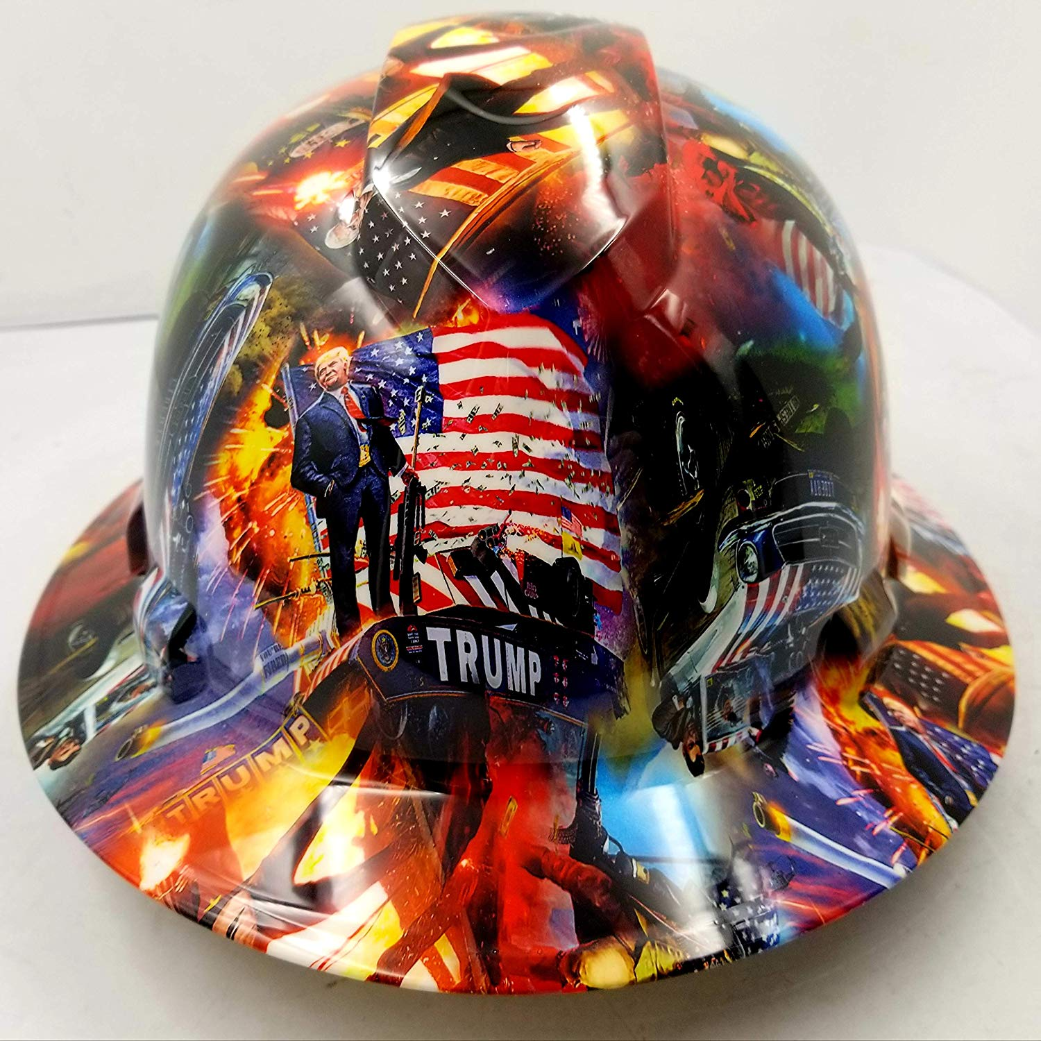 Donald trump hard hat