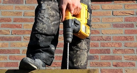 How to use hammer drill