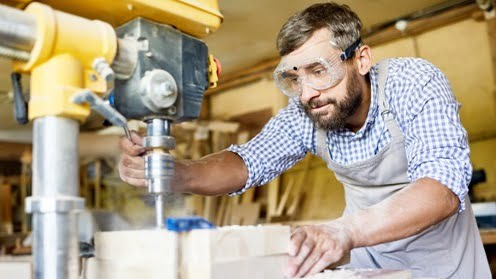 Drill Press Safety Rules