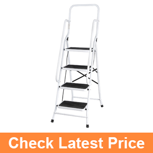 Folding Four Step Ladder