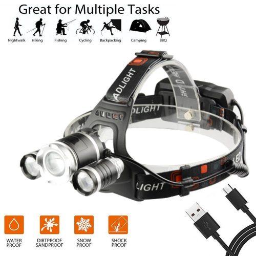 Ousili Headlamp Flashlight_
