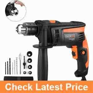 Tacklife-Hammer-Drill,-12In.-2800rpm-Dual-Drills