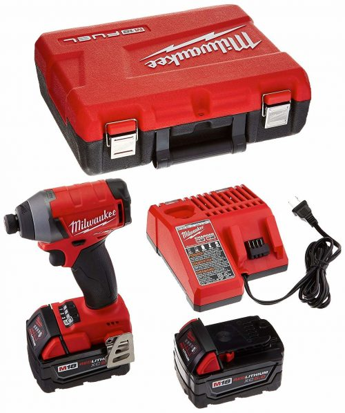 Milwaukee Electric Tool GIDDS2-157188 M18 18V Impact Driver Kit