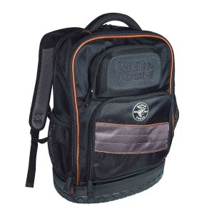 Backpack,-Electrician-Tool-Bag,-Tradesman-Pro-Organizer,-25-Pockets,-Laptop-Compartment-Klein-Tools-55439BPTB