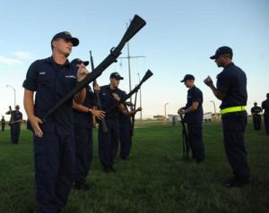 Coast Guard Recruit Precision Drill Team