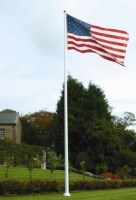 flag-on-pole blog-collinsflags-com