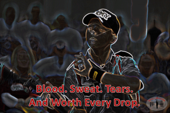Drill Posters- Blood Sweat Tears