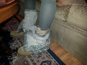 2 Sets OD Green Blousing Straps Bdu Pants Combat Boot Blouse Pant Blousing Strap