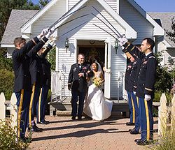 Arch of Steel Wedding Cordon