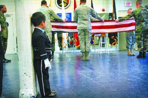 Little Boy in USAF Ceremonials