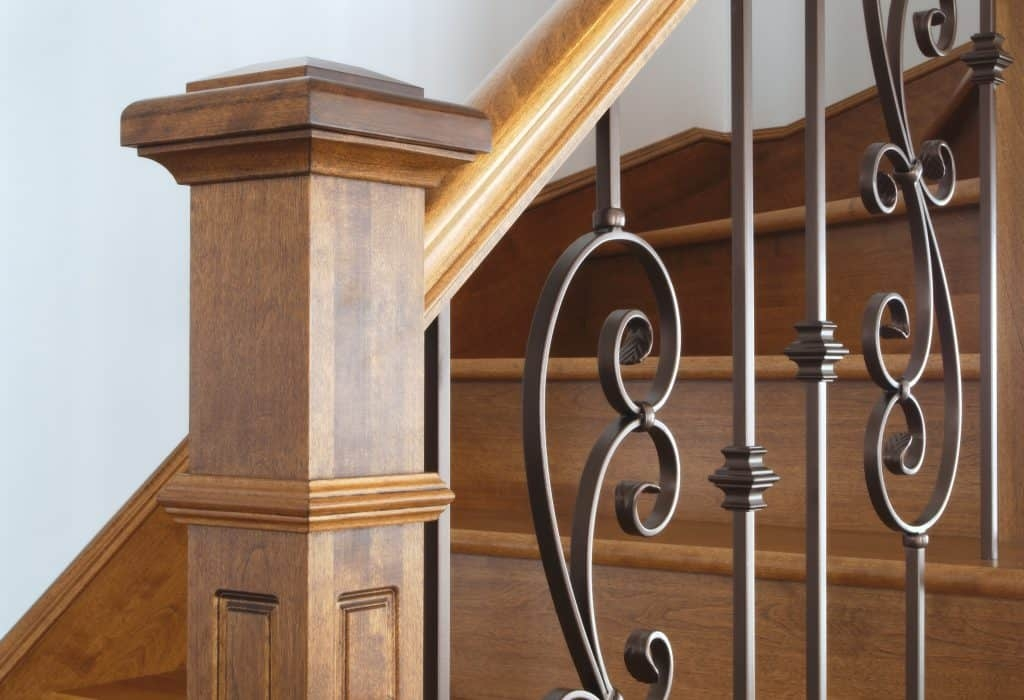How Do You Make A Newel Post Sturdy – Drill Warrior   Shaker Style Newel Post   Shingle Style   Baluster   Pressure Treated   Square   Railing