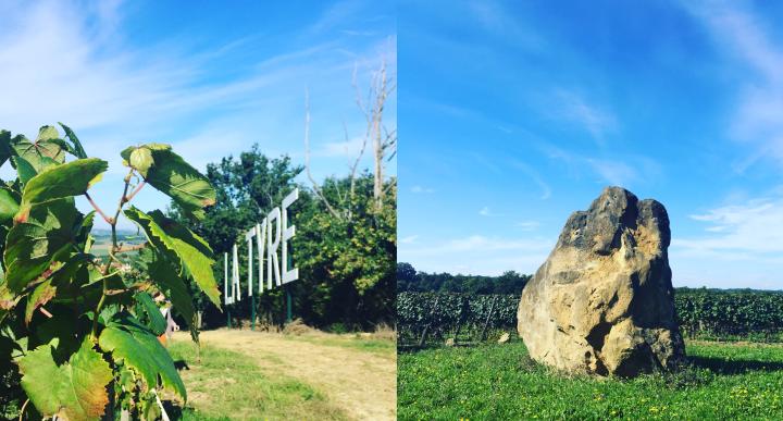 Parcelles La Tyre & Menhir
