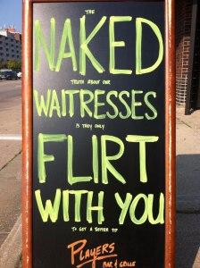 naked flirt
