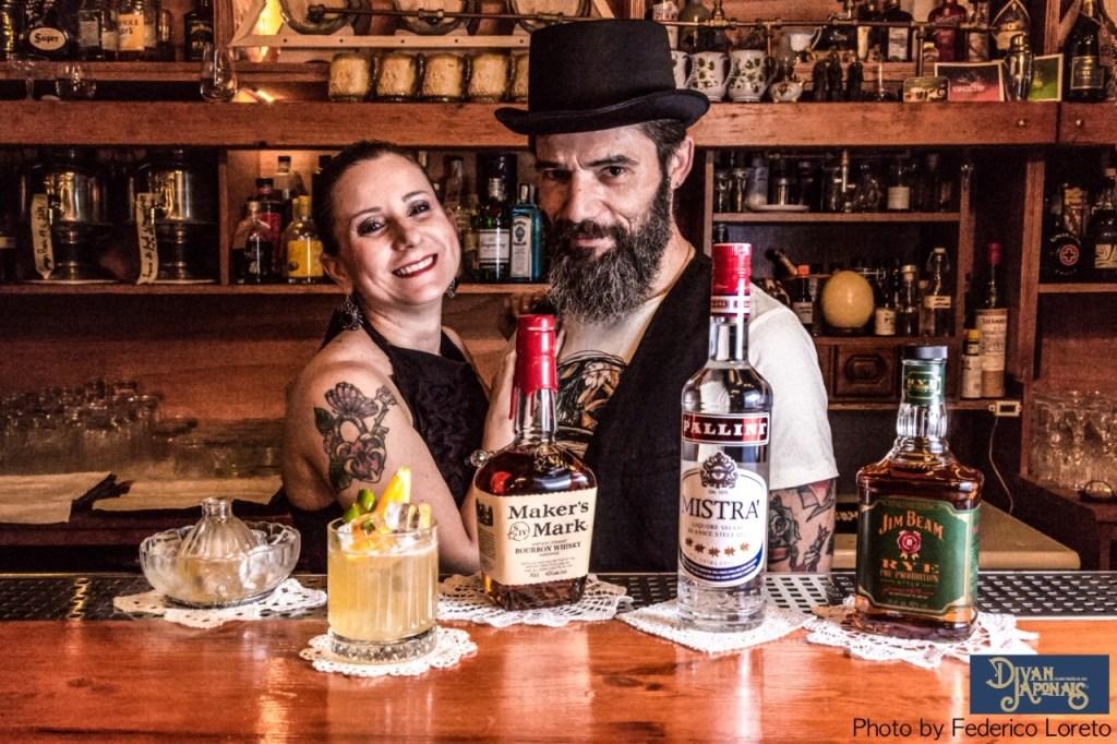 Max La Rosa proprietario e barman del Divan Japonais di Frascati Roma